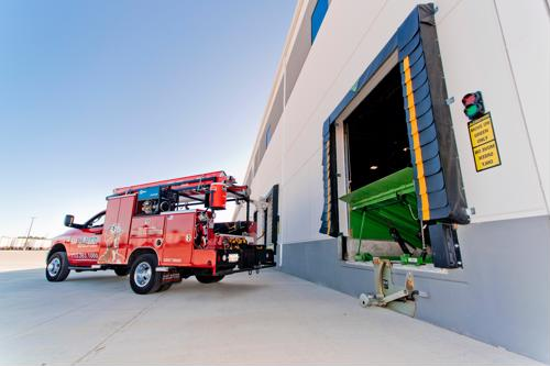 Truck restraints, dock bumpers and dock seals should all be in working order at your facility.
