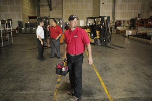 Trained technicians equipped with the parts to resolve common equipment failures can be on site quickly and get your high-speed doors and other operations up and running quickly.